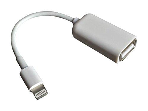 Lightning – USB 変換アダプタ オス-メス USB用変換ケーブル ライトニングUSBケーブル iPhone iPad Lightning OTG ケーブル ライトニング-USBカメラアダプタ ライトニングコネクタ