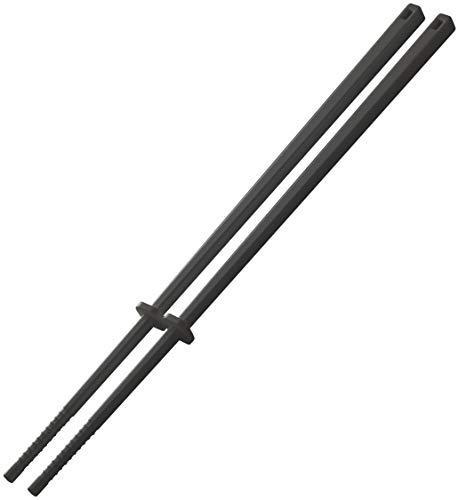 山崎実業(Yamazaki) シリコーン菜箸 ブラック 約W0.8XD0.8XH30cm タワー シリコーン 菜箸 キッチンツール 4275