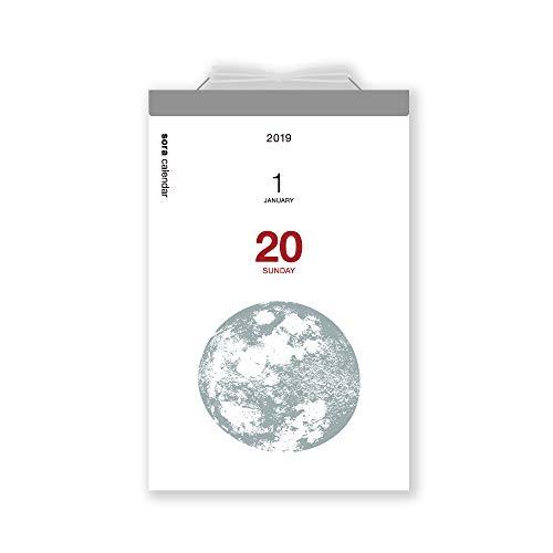 新日本カレンダー 2019年 宙の日めくり カレンダー 日めくり NK8818 (2019年 1月始まり)