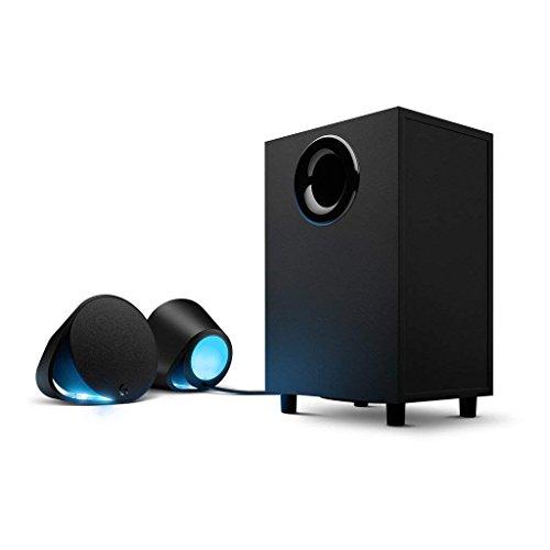 Logicool G ゲーミング スピーカー G560 ブラック PC スピーカー 4台接続 LIGHTSYNC RGB 国内正規品 2年間メーカー保証