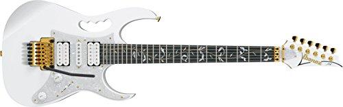 Ibanez アイバニーズ エレキギター JEM7V Steve Vai Signature WH 【問題解決】クリップチューナーのつけっぱなしのダサさを解決!? マグネットで前から見えなくして隠す簡単・無加工の方法。