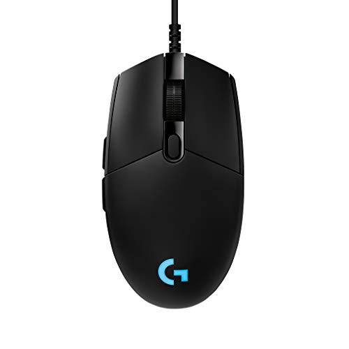 Logicool G ゲーミングマウス G-PPD-001r ブラック usb 有線 83g 軽量 ゲームマウス HERO16Kセンサー LIGHTSYNC RGB G Pro 国内正規品 2年間メーカー保証