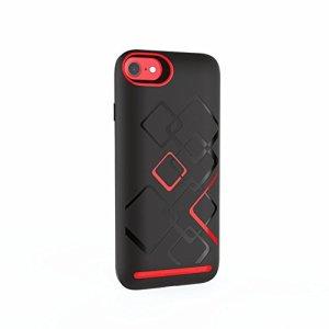 GX iphone8 7 6s 6 高級 バッテリー内蔵ケース 充電できる iphoneケース 大容量 5000mAh 着けるだけで2倍使える iphone6 6s 7 8 おしゃれ 高級iphoneケース プレゼント (iphone6/6s/7/8黒)