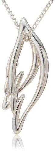 [未来天使]Miraitenshi ネックレス SV950&925 天使の羽ばたきシルバーペンダント MIP1107 レディース