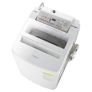 パナソニック 洗濯・脱水容量8kg:乾燥容量4.5kgタテ型インバーター洗濯乾燥機 (ホワイト) (NAFW80S3W) ホワ...