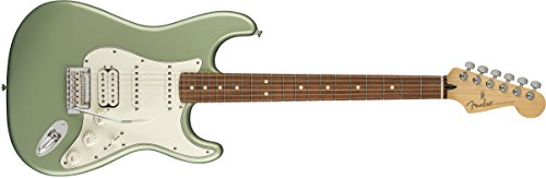 Fender エレキギター Player Stratocaster® HSS, Pau Ferro Fingerboard, Sage Green Metallic