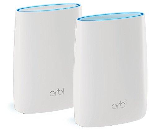 NETGEAR メッシュWiFi 無線LANルーター トライバンド 1733+866+400Mbps Orbi スターターキット RBK50-100JPS