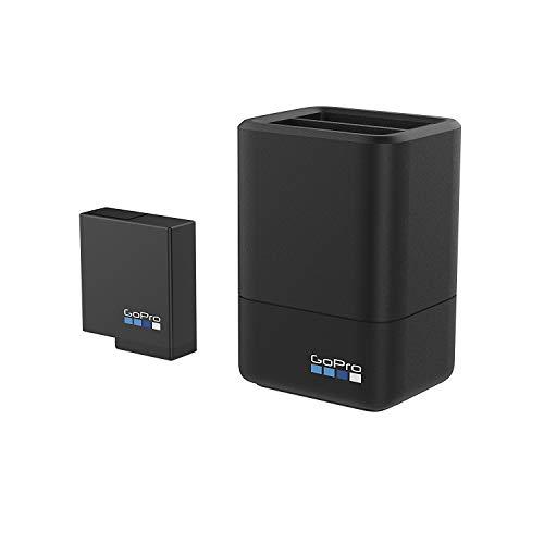 【国内正規品】 GoPro ウェアラブルカメラ用充電器 デュアル バッテリー チャージャー + バッテリー HERO5 Black対応 AADBD-001