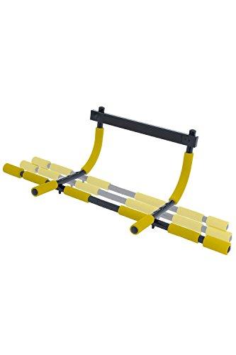 【マッスルプロジェクト】 マルチエクササイズ ミニ2 Ⅱ MP-MEX-MINI02 ドア枠に引っかけるだけ 懸垂 トレーニング ドアジム 健康器 ( 懸垂 チンニング 背筋 筋トレ 腕立 ディップス ) (幅95.5×高さ30×奥行41cm 耐荷重136㎏)