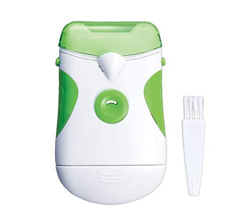 電動爪やすり(ライト付) つめやすり 電池式 コードレス 足の爪 老眼 ネイルケア 水洗い可