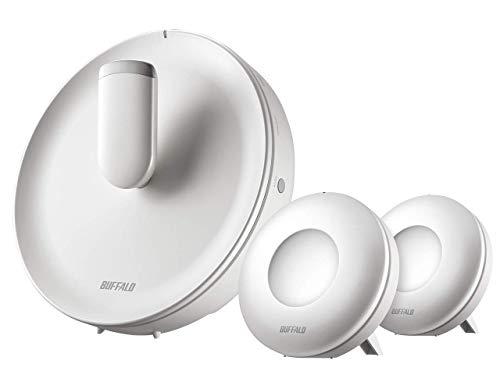 BUFFALO WiFi 無線LAN AirStation connect 親機+専用中継機2台セットモデル WTR-M2133HP/E2S 11ac 866+866+...