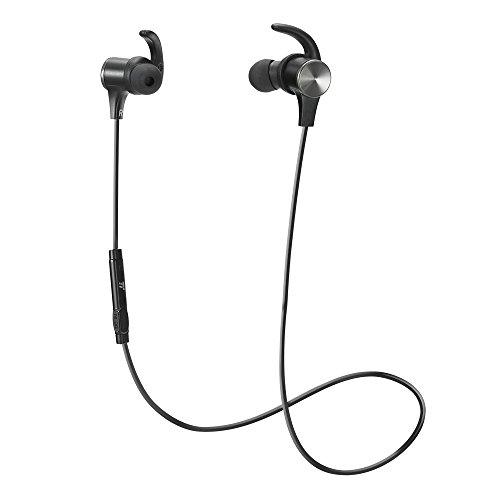 TaoTronics Bluetooth イヤホン(apt-Xコーデック対応・防水仕樣) 高音質 マグネット搭載 スポーツ仕様 TT-B...