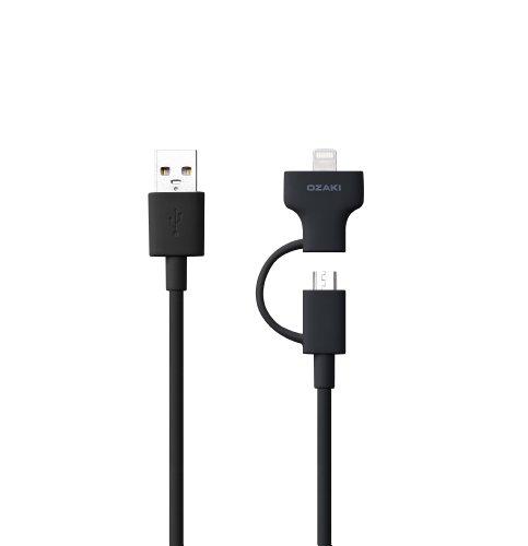 OZAKI O!tool Sync/Charge Combo Cable Black