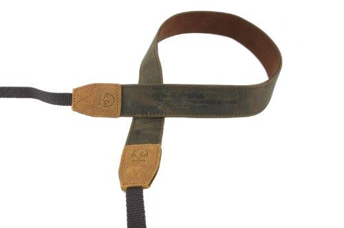 EtsHaim ネックストラップ Vintage-30 ミラーレス/一眼レフ用 ブラウン 本革 M-7541