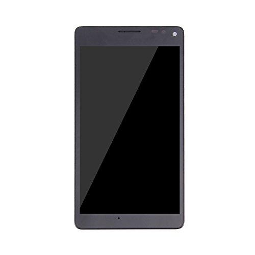 Fematealliance LCDスクリーンの交換 LCDスクリーンの取り替えLCD修理マイクロソフトLumia 950 XL用フレーム付きLCDスクリーンとデジタイザーフルアセンブリが壊れています(ブラック) (色 : Black)