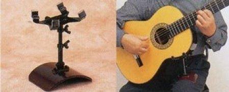 ギターレスト/GR-2(ネジ式)ニッケル ギターサポート