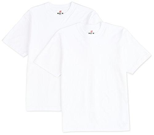 (ヘインズ)Hanes BEEFYTシャツ 2枚組 H5180-2 010 ホワイト M