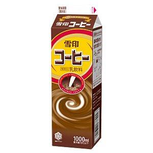 メグミルク 雪印コーヒー1L 12本