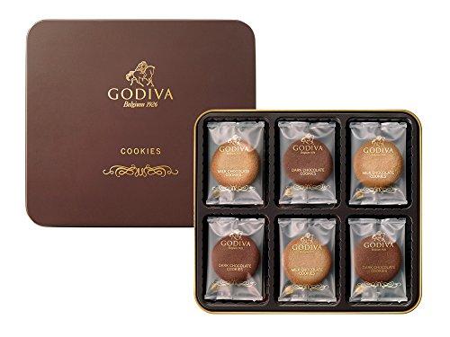 GODIVAのクッキーアソートは友達が喜ぶプレゼント