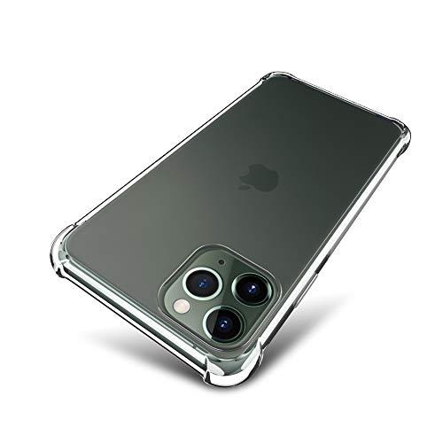 iPhone 11 Pro Max ケース 【SLEO】 軽量 TPUケース 全面クリア 触覚シリーズ 6.5 インチiPhone11 Pro Maxカバー 薄型 耐スクラッチシェル(クリア)