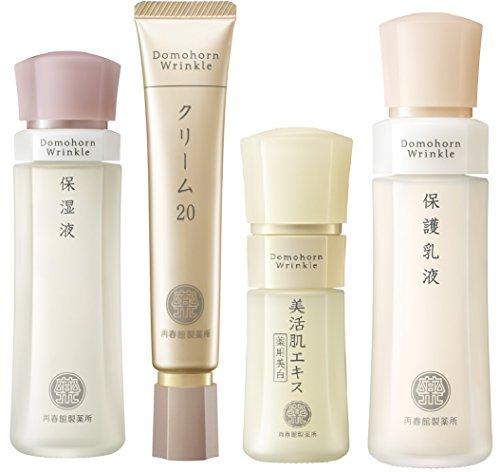 ドモホルンリンクルは基礎化粧品の王道