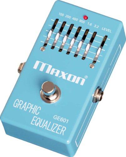 Maxon ギターエフェクター Graphic Equalizer GE601 MOOER エフェクター のコピー元一覧! 元ネタはあの名機!!