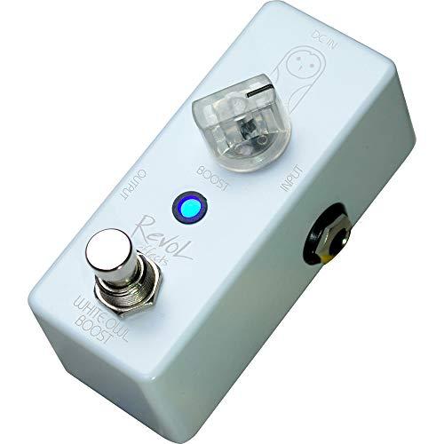 Revol effects レヴォルエフェクツ エフェクター ブースター WHITE OWL BOOST ECB-01 【RevoL effects一覧・動画あり】3000円で買えるエフェクターが安くて小さくて音も良さそう!