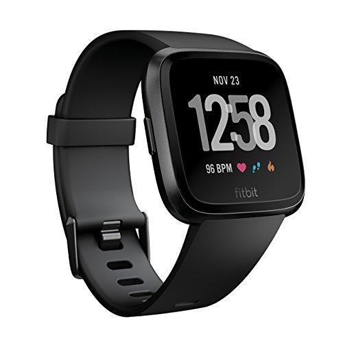 Fitbit フィットビット スマートウォッチ Versa iOS/android対応 バッテリーライフ4日以上 睡眠ステージ記...