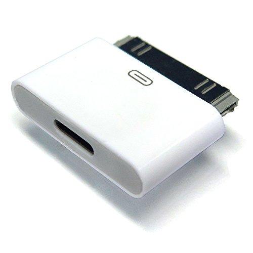 iNTE-E Direct 【アマゾン限定】 Lightning 変換コネクタ   Lightningメス-iDockオス iPhone6からiphone4へ変換コネクタ  充電器  充電アダプター  8pin Lightning DOCK iphone6 /iphone5iPad mini iPod Lightning 30ピンアダプタ iphone4s/4 iNTE-4077