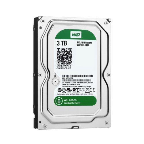【Amazon.co.jp限定】WD Green 3.5inch IntelliPower 3.0TB 64MBキャッシュ SATA3.0 WD30EZRX-1TBP/N 【フラストレーションフリーパッケージ(FFP)】