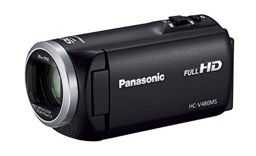 パナソニック HDビデオカメラ V480MS 32GB 高倍率90倍ズーム ブラック HC-V480MS-K