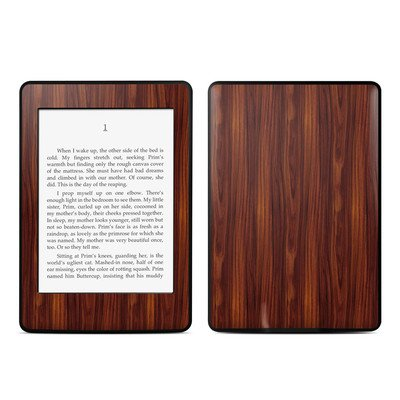 Amazon Kindle Paperwhite スキンシール【Dark Rosewood】