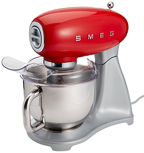 Smeg Red 50's Retro Style Stand Mixer [並行輸入品]
