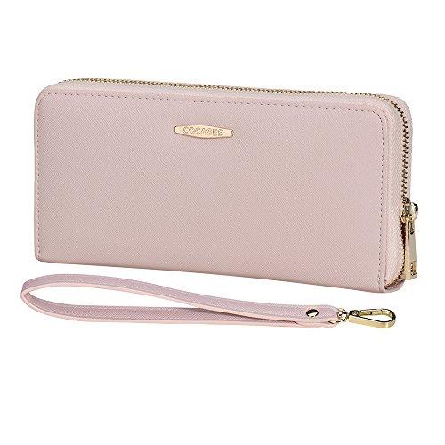 COCASESの財布はストラップ付で60代の母親におすすめのギフト財布