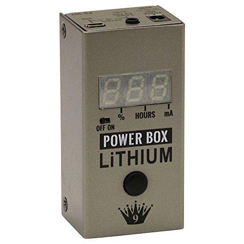 Big Joe ビッグ・ジョー トゥルーバイパス アナログ回路 充電式パワーサプライ Made in USA PB-107 -Power Box Lithium- 【充電式パワーサプライ特集】充電式でノイズを減らしエフェクターボードが軽くなる、小さくて安いオススメ電源!