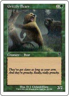 マジック:ザ・ギャザリング 【英語】 【第7版】 灰色熊/Grizzly Bears