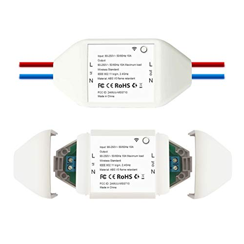 スマートスイッチ WiFiスイッチ 電源リモートスイッチ リモコンスイッチ リモートコントロール APP遠隔操作...