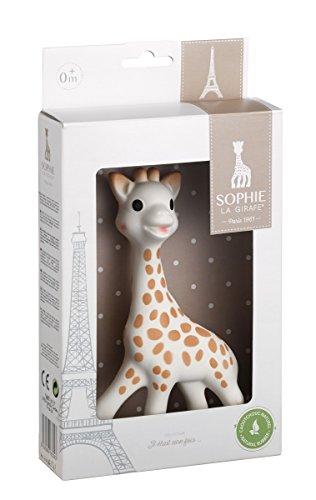 キリンのソフィーは赤ちゃんも安心して使えるギフト