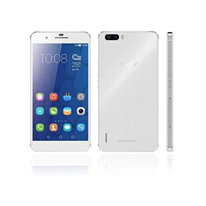 HUAWEI Honor 6 Plus PE-UL00スマートフォン (LTE対応)4Gスマートフォン TDD-LTE FDD-LTE スマートフォン Hisilicon Kirin 925 1.8GHz 3600mAh デュアル SIM Android 4.4 オクタコア 5.5インチ IPS 1920 * 1080スクリーン 3GB RAM+16GB ROM 8MP 8MP デュアルカメラ【並行輸入品】