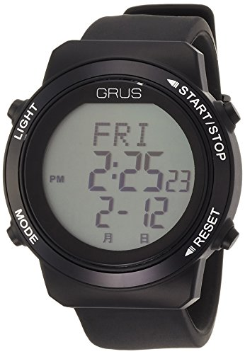 [グルス]GRUS 腕時計 認知症予防 歩幅計測 ウォーキングウォッチ GRS001-02