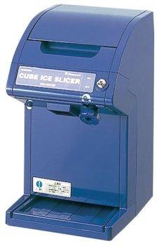 中部コーポレーション 氷削機 キューブアイススライサー ブルー HC18C(B)