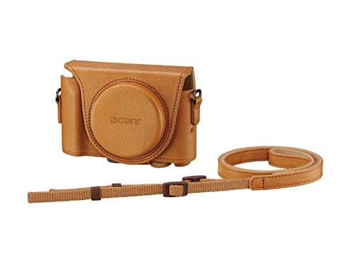 ソニー SONY デジタルカメラケース ジャケットケース ライトブラウン LCJ-HWA TIC