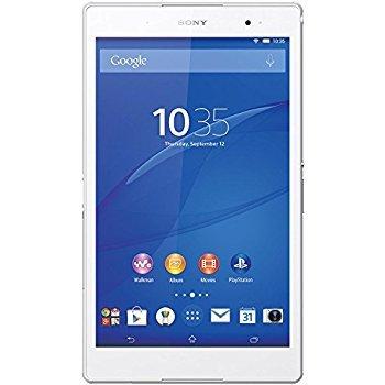 ソニー Xperia Z3 Tablet Compact SGP611 ホワイト