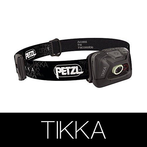 PETZL (ペツル) TIKKA ティカ E93 AA ブラック         メーカー説明書付き(日本語あり) [並行...