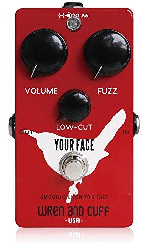 Wren and Cuff Creations レナンドカフクリエイションズ ファズ Your Face Smooth Silicon 70's Fuzz (国内正規品) 【徹底紹介】KOTORI・上坂仁志のエフェクターボード・機材を解析!ツマミ・ノブの位置も分かる!ギターを支える足元の機材の数々を紹介! #KOTORI #上坂仁志【金額一覧】