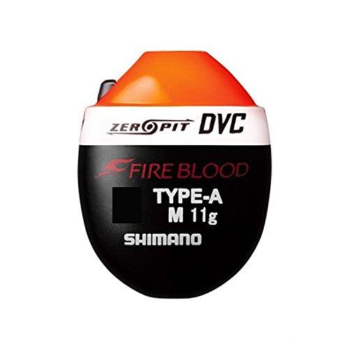 シマノ ウキ ファイアブラッド ゼロピット DVC TYPE-A M 3B オレンジ FL-111P