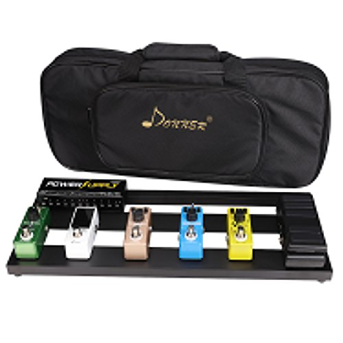 Donner Effect Pedal Board アルミニウム合金 ギターエフェクター ペタル ボード 持ち運びが楽なエフェクターバッグを選ぼう! オススメTOP10!