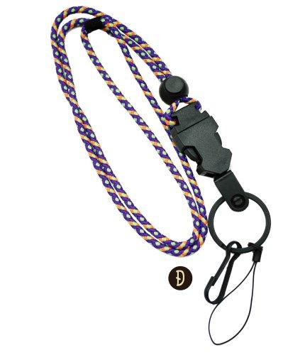 クライミングロープ アクセサリー ネックストラップ 山ガール アウトドア フェス ;ODA-002D