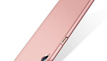 bdd7ed619e TORRAS iPhone7ケース【ガラスフィルム付き】アイフォン7ハード 薄型 アイホン用カバー (