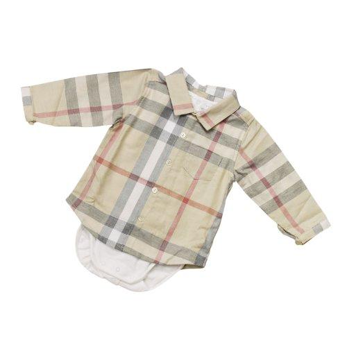 バーバリーのベビー服は男の子の出産祝いに人気